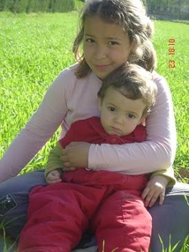 Ludmila y Gael (foto cedida por el blog Hore Shakul)