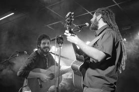 El Kanka y Álvaro Ruiz